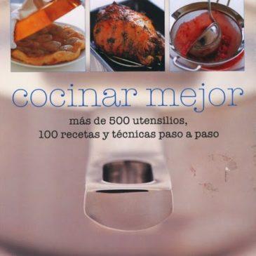 Cocinar mejor. (Christine McFadden)