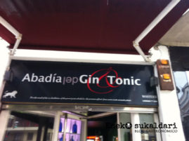 Abadía del Gin Tonic - Bilbao