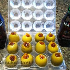 Aceitunas rellenas de martini de A fuego negro