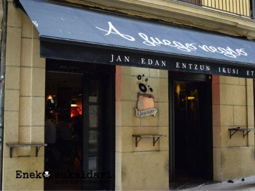 A fuego negro (Donostia - San Sebastián)