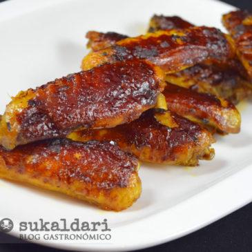 Alitas de pollo al horno