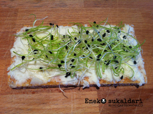 Anchoas marinadas en teriyaki