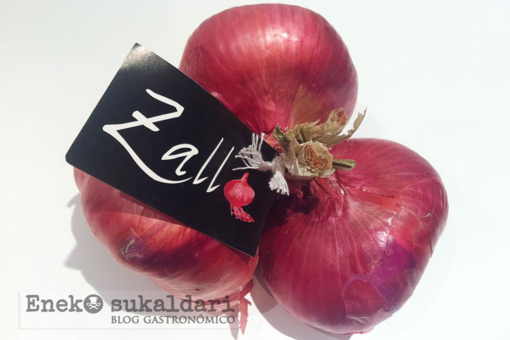Aros de cebolla morada de Zalla