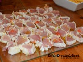 Tataki de bonito del norte