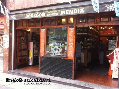 Bodegón Mendia (Santutxu - Bilbao)