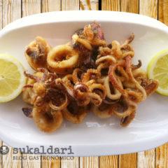 Calamares fritos al estilo Norai de Lekeitio