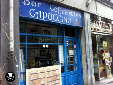 Fachada del Bar Capuccino Coffee & Tea