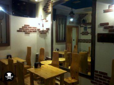 Comedor inferior del Bar Capuccino Coffee & Tea