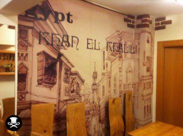 Bar Capuccino Coffee & Tea. Restaurante Egipcio en Bilbao.