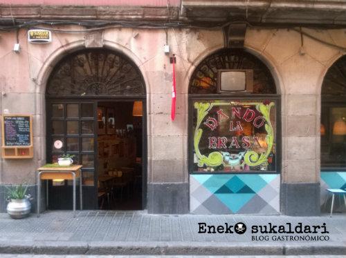 Dando la brasa - Bilbao la vieja (Bilbao)