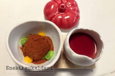 Tomate y queso Gatzatua
