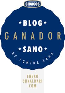Eneko sukaldari el mejor blog de comida sana.