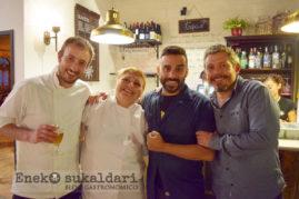 Iván, Soraya, Estanis Carenzo y Álvaro Garrido