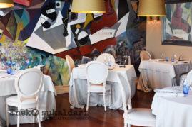 Comedor del restaurante Etxanobe
