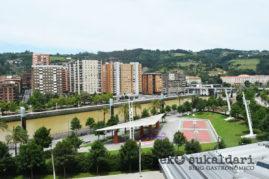 Vistas del Restaurante Etxanobe (Bilbao)