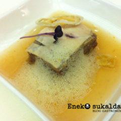 Gastroexperiencia en el restaurante Aretxondo