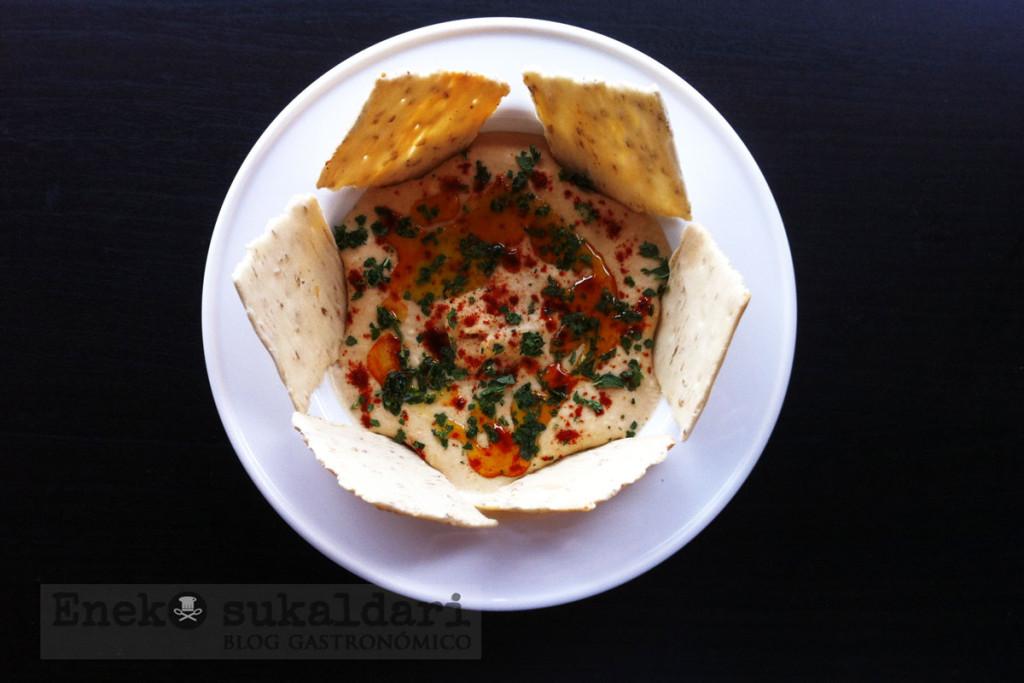 Hummus receta tradicional paso a paso