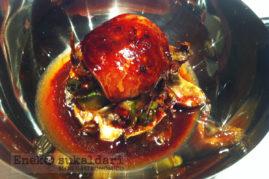 Alcachofas fritas con trigueros y escalope de foie