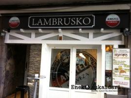 Lambrusko (Santutxu - Bilbao)