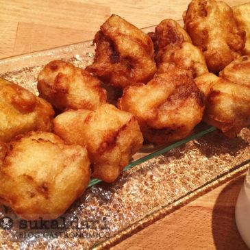 Nuggets de atún a la naranja - Eneko sukaldari