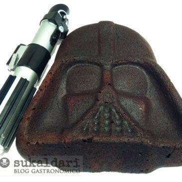 Pastel Darth Vader de chocolate