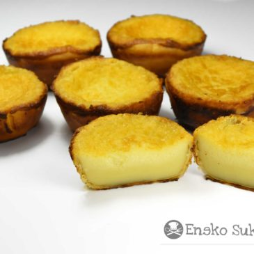 Pastel de arroz de Bilbao - receta - Eneko sukaldari