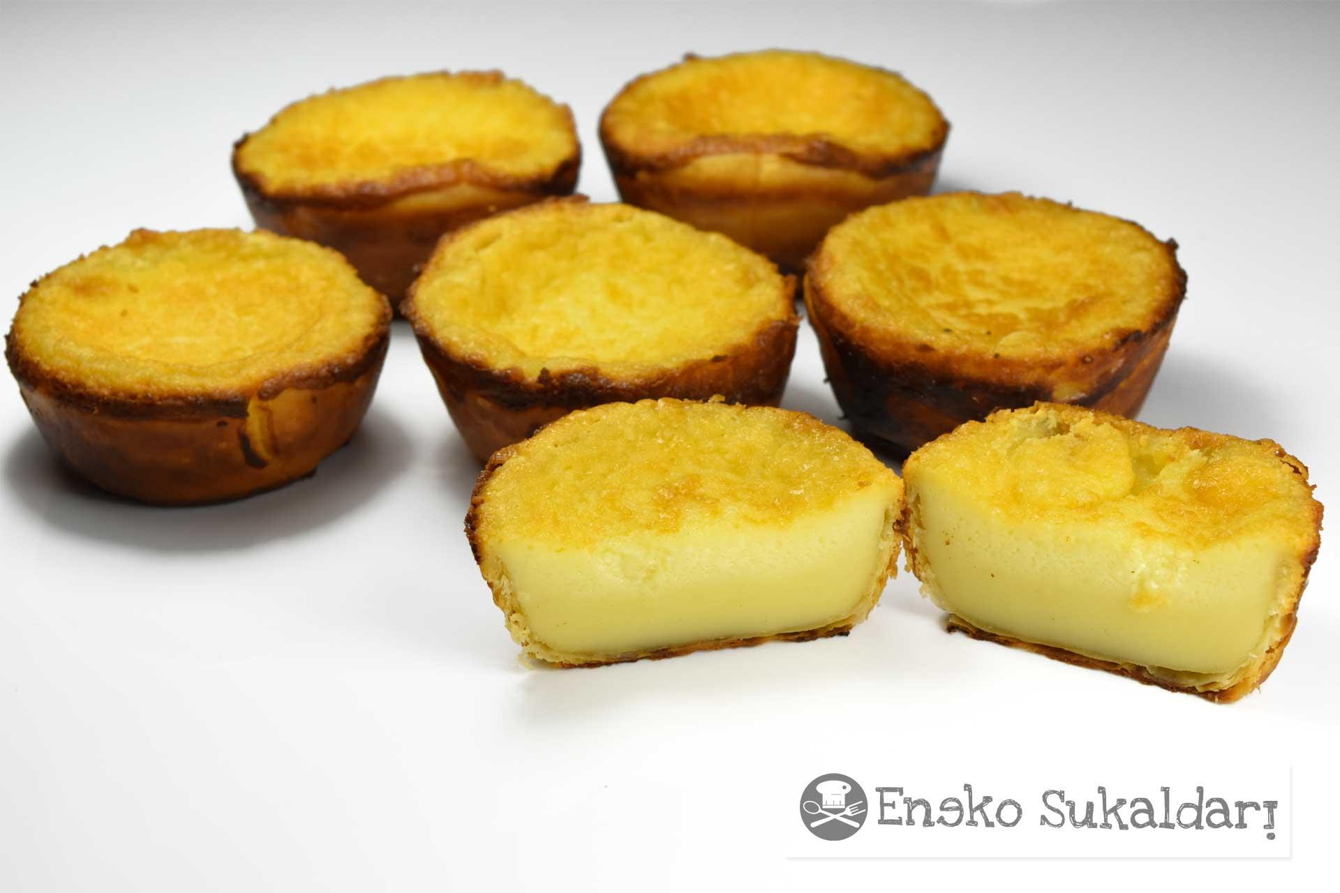 Pastel de arroz - receta - Eneko sukaldari