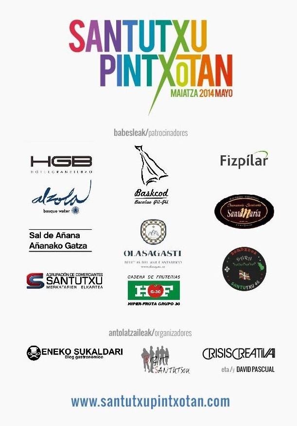 Patrocinadores de Santutxu pintxotan
