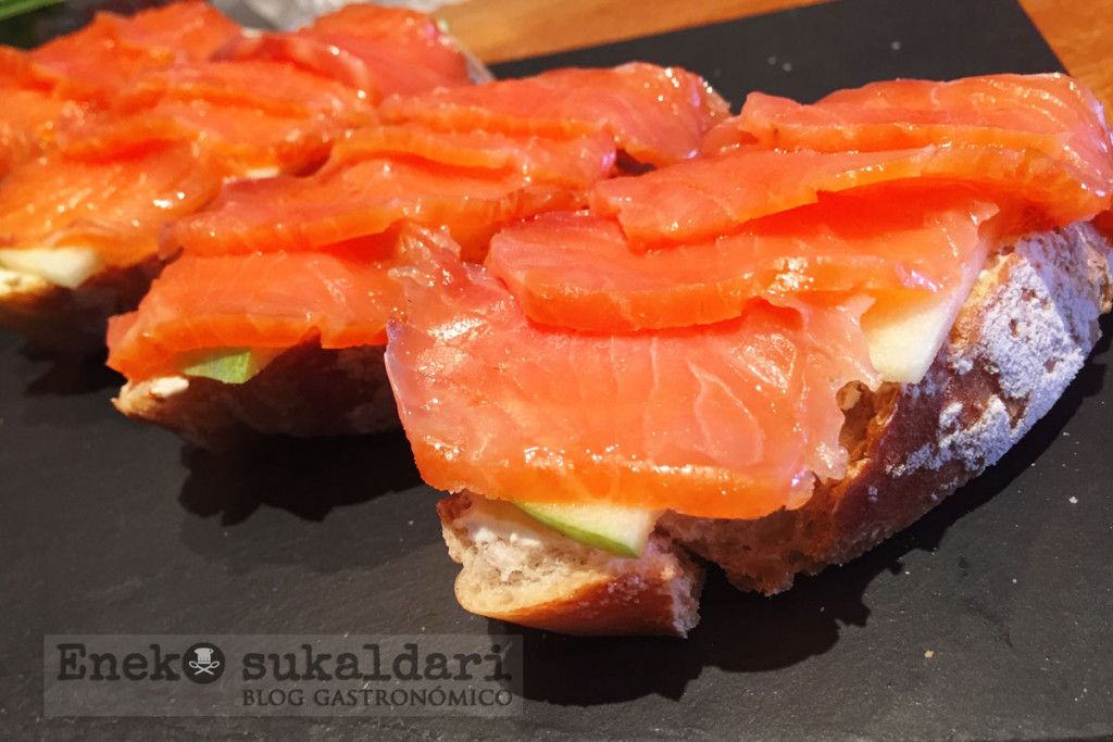 recetas de pintxos con salmon