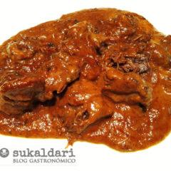 Rabo en salsa - Eneko sukaldari