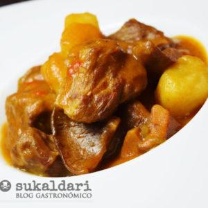 Rancho de carne con níscalos - Eneko sukaldari