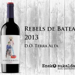 Rebels de Batea tinto 2013