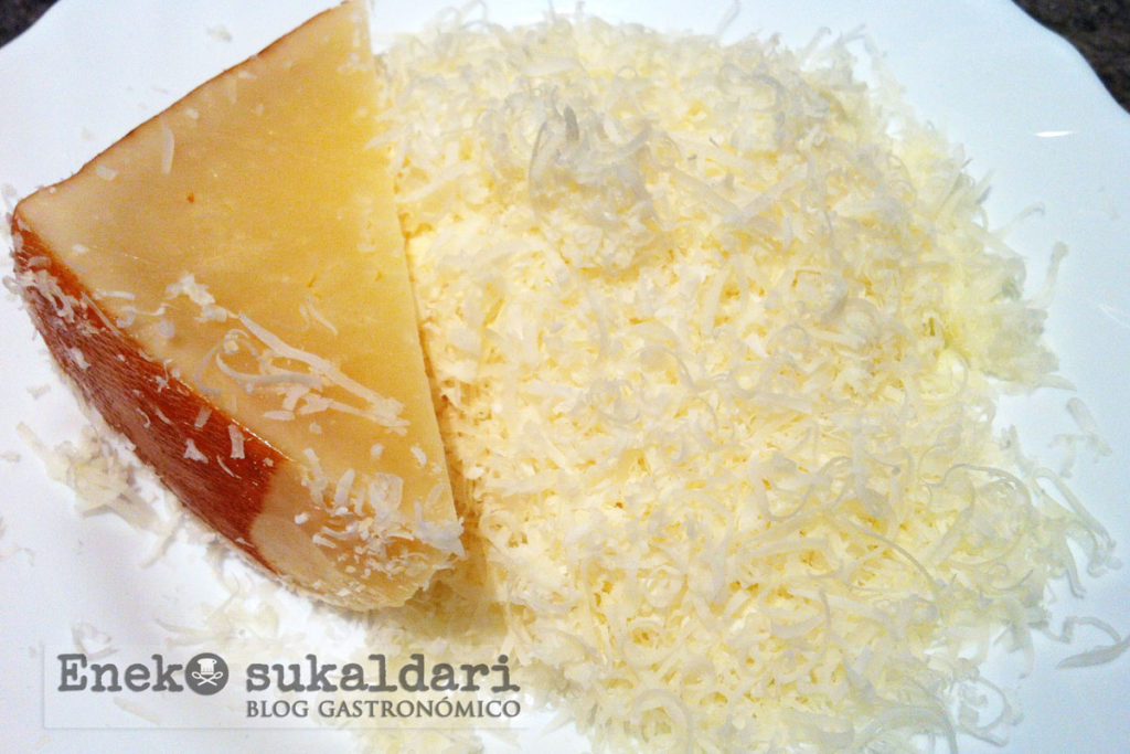 Risotto de pulpo a la trufa negra con Idiazabal - Eneko sukaldari