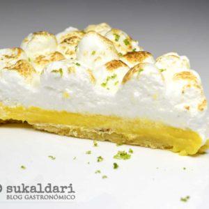 Tarta de limón (lemon pie) - Eneko sukaldari blog gastronomico - Bilbao