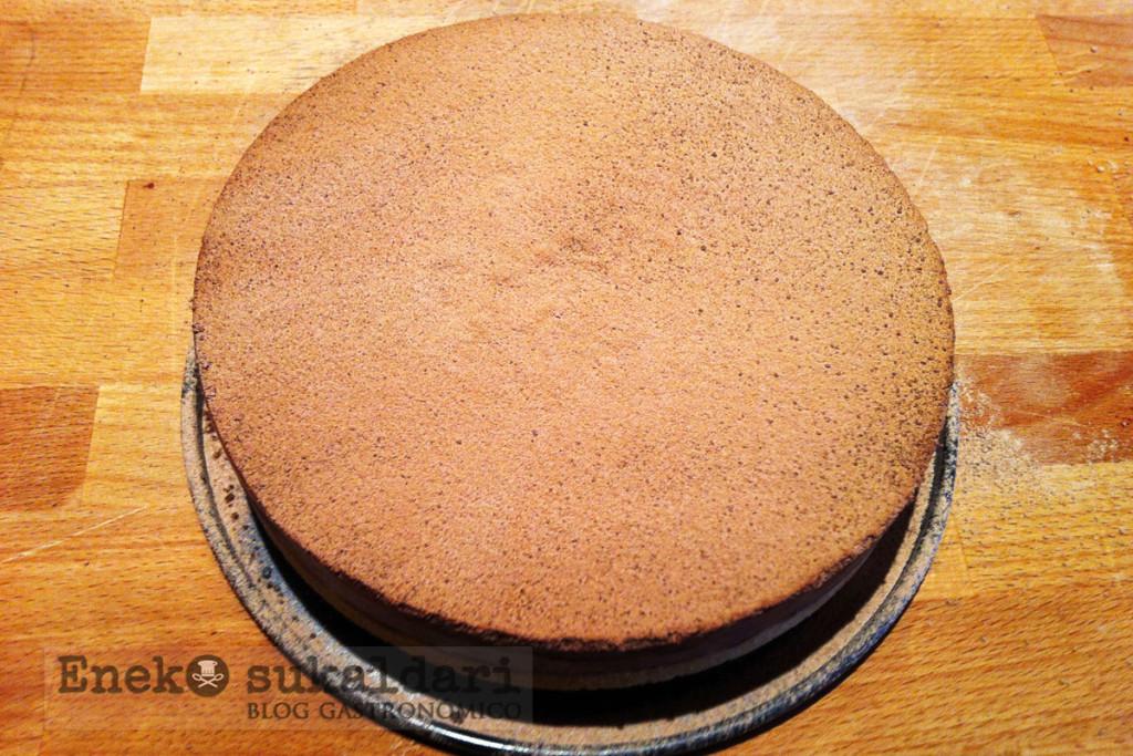 Tarta explosiva de chocolate, maracuya y Peta Zetas de Heston Blumenthal
