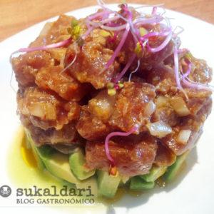 Tartar de bonito del norte con aguacate - Eneko sukaldari