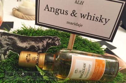 Black Angus y whisky Macallan: Dos escoceses bien avenidos