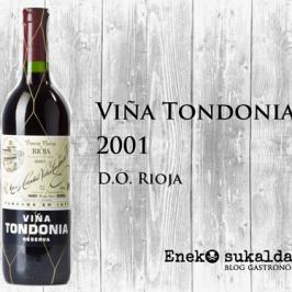 Viña Tondonia reserva 2001