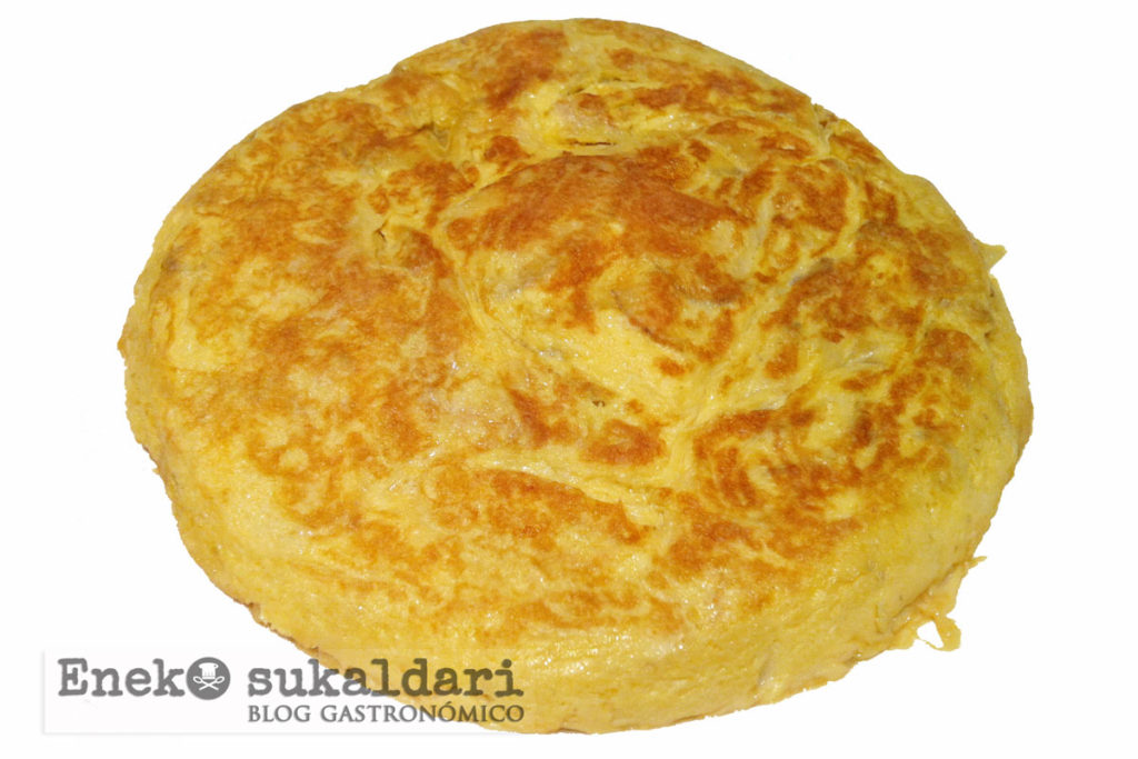 Tortilla de patata express, lista en 10 minutos - Eneko sukaldari