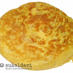Tortilla de patata express, lista en 10 minutos