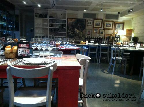 Restaurante Un Señor de Bilbao USB