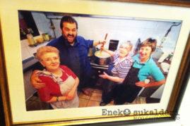 El jatetxe Zarrabenta está bendecido por Robin Food